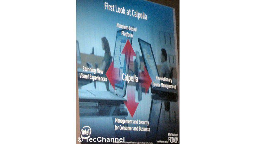 """Centrino 2009: Nach der Centrino-2-Plattform """"Montevina"""" im Juni 2008 folgt ein Jahr später die neue Notebook-Technologie """"Calpella""""."""