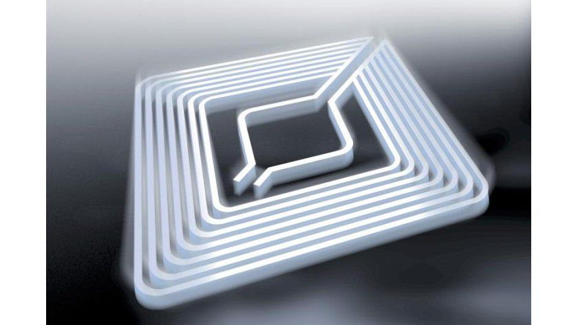 RFID-Chip. Abb.: Christian Schmalohr