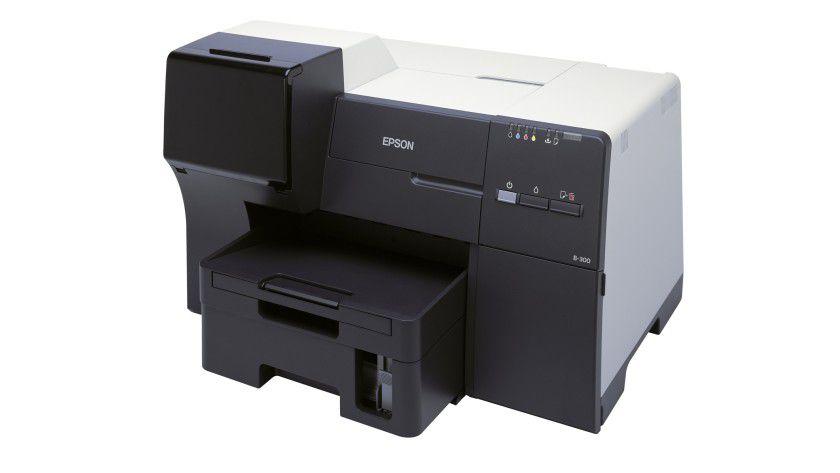 Epson B-300: Der neue Business-Inkjet-Drucker soll bis zu 37 Seiten pro Minute produzieren. (Quelle: Epson)