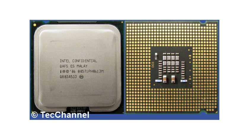 Core 2 Duo E7200: Der 45-nm-Dual-Core-Prozessor für den Sockel LGA775 arbeitet mit 2,53 GHz Taktfrequenz und einem FSB1066. Den beiden Kernen stehen insgesamt 3 MByte L2-Cache zur Verfügung.