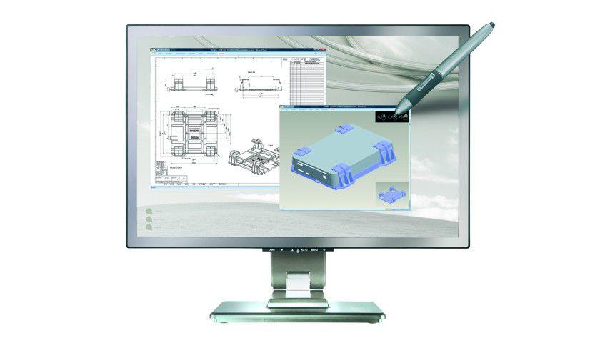 "Belinea s.display 5_22"" wide: Das 22-Zoll-Display bietet eine integrierte Pen-Tablet-Funktion. (Quelle: Belinea)"