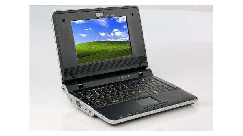 One A120: Das Mini-Notebook basiert auf einer VIA-CPU und ist mit einem 7-Zoll-Display ausgestattet. (Quelle: One)