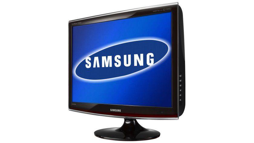 Samsung SyncMaster T260HD: Das 26-Zoll-Display arbeitet mit einer Auflösung von 1920 x 1080 Bildpunktnen. (Quelle: Samsung)