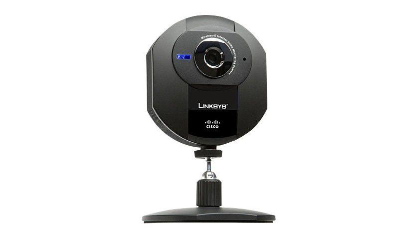 Per WLAN: Die Internet-Videokamera von Linksys überträgt Daten drahtlos.