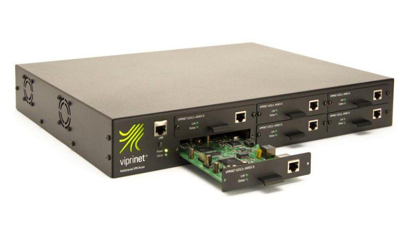 Viprinet Multichannel VPN Router. Foto: Viprinet
