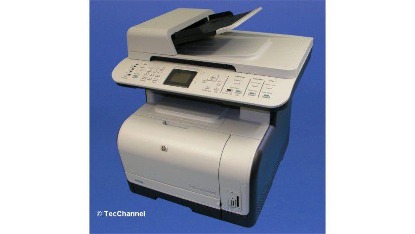HP Color LaserJet CM1312 MFP: Der Einstiegspreis für das kleine Kombigerät beginnt bei 349 Euro.