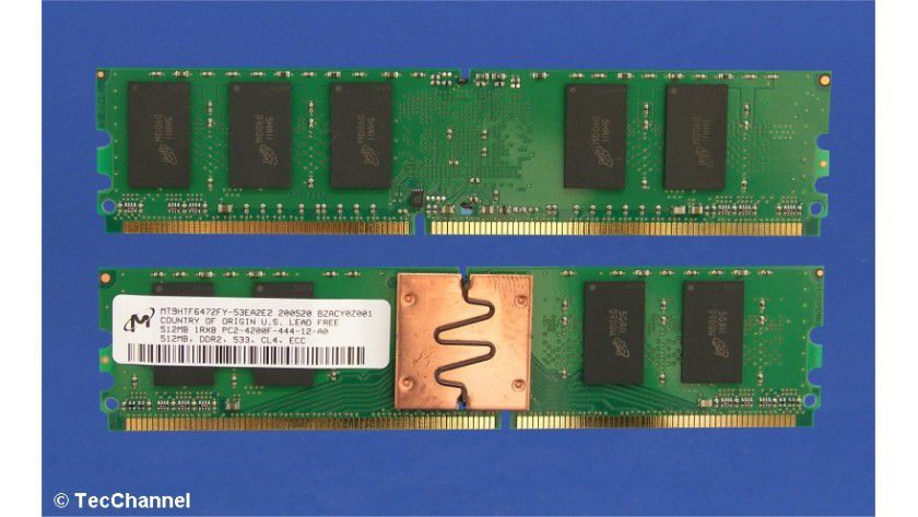 FB-DIMM-Module: Die FB-DIMM-Speichertechnologie gegenüber herkömmlichen Registered-DIMMS zahlreiche Vorteile, aber auch einige entscheidende Nachteile.