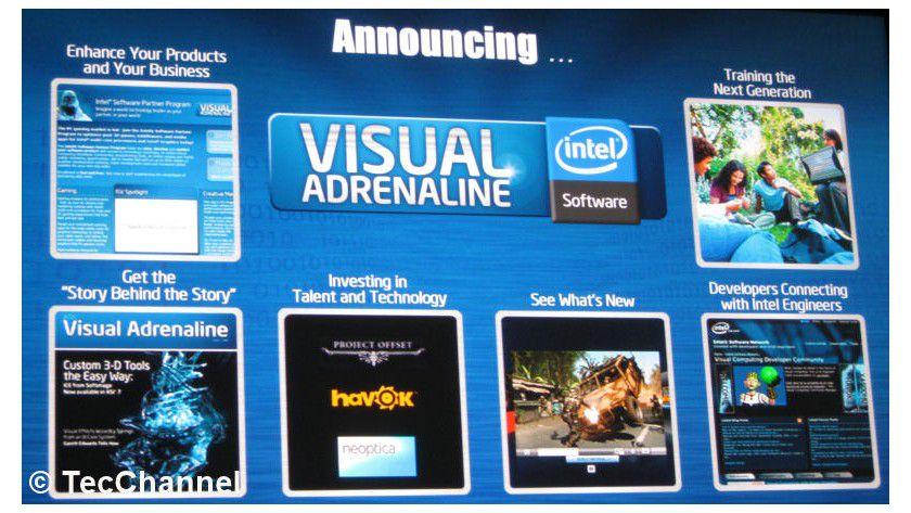 Visual Adrenaline: Plattform mit Hilfestellungen für Entwickler von Digital Content.