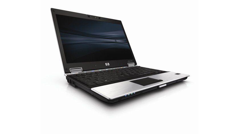 HP Elitebook 2530p: Das 12-Zoll-Gerät soll 1,36 kg wiegen, das Display arbeitet mit WXGA-Auflösung und LED-Hintergrundbeleuchtung. (Quelle: Hewlett Packard)