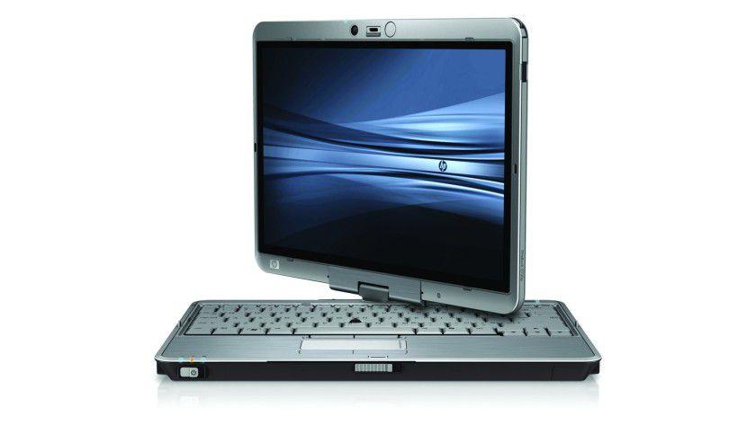 HP Elitebook 2730p: Der 12-Zoll-Tablet PC basiert auf Intels aktuellen Low-Voltage-Prozessoren. (Quelle: Hewlett Packard)