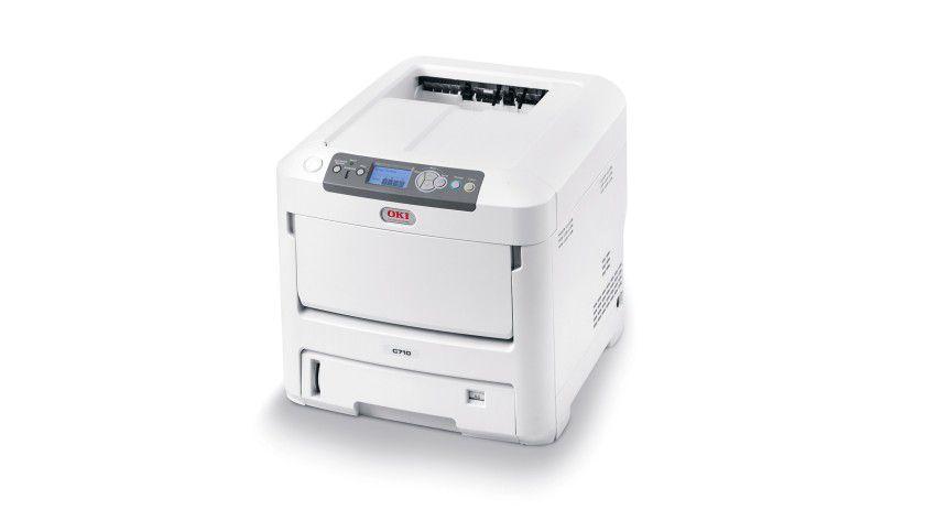 Oki C710: Der A4-Farbdrucker für Arbeitsgruppen soll bis zu 30 Farbseiten pro Minute produzieren. (Quelle: Oki Printing Solutions)