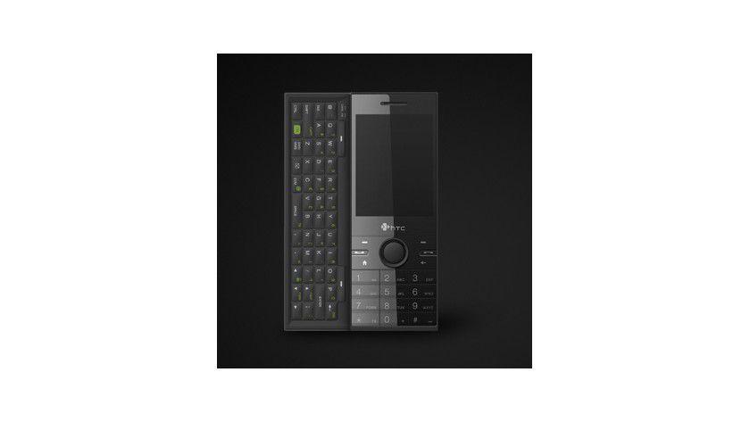 HTC S740: Das Smartphone ist zwischen Touch Diamond und Touch Pro angesiedelt. Es bietet sowohl eine Tastatur als auch einen Zahlenblock. (Quelle: HTC)