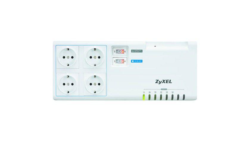 Bei uns kommt das Netz aus der Steckdose: Zyxels Powerline-Erweiterung PLA491.