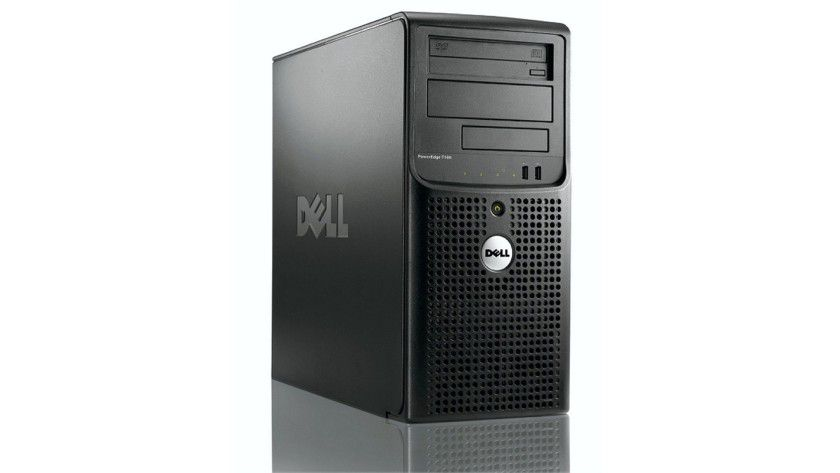 Einstiegs-Server: Der Dell PowerEdge T100 ist für kleine und mittelständische Unternehmen konzipiert. (Quelle: Dell)