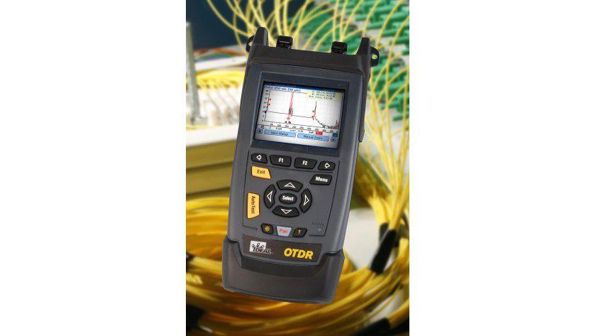Der bringt es ans Licht: Mikro-OTDR 33-960 von Ideal Industries.