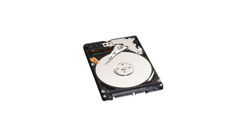 Western Digital Scorpio Blue: Die 2,5-Zoll-Festplatte mit 500 GByte Kapazität benötigt nur zwei Magnetscheiben. (Quelle: Western Digital)