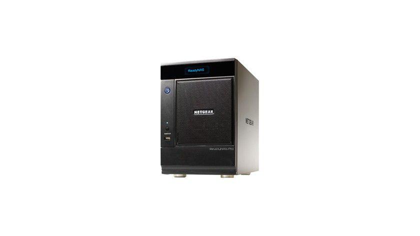 Speicherklotz: Bis zu 6 Terabyte Kapazität im Netgear ReadyNAS Pro.
