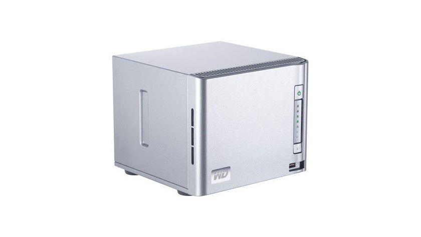 Western Digital ShareSpace: Das NAS ist mit bis zu vier Festplatten ausgestattet. (Quelle: Western Digital)
