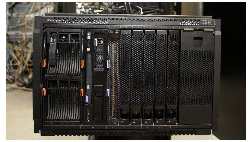 Alleskönner: Mit dem BladeCenter S will IBM besonders den Mittelstand adressieren. (Quelle: IBM)