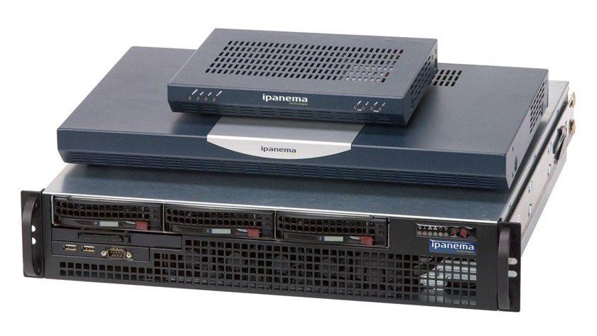 Trafficwächter: Ipanemas ip-engines optimieren den Datenverkehr im WAN.