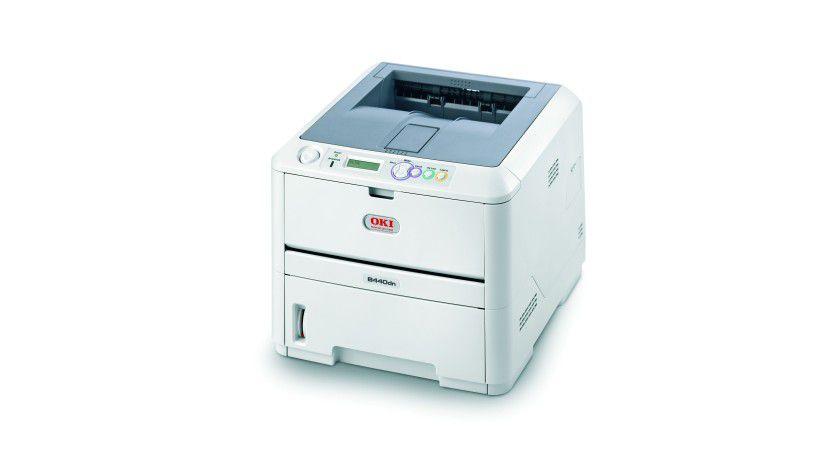 Oki B440dn: Der LED-Drucker für kleine Gruppen soll bis zu 28 Seiten pro Minute produzieren. (Quelle: Oki)