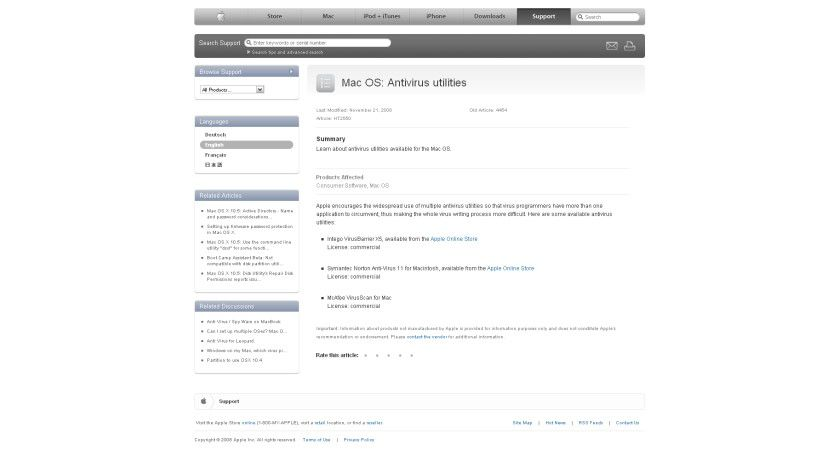 Je mehr, desto besser: Apple empfiehlt seinen Nutzern in jedem Fall einen Virenschutz - oder mehrere.