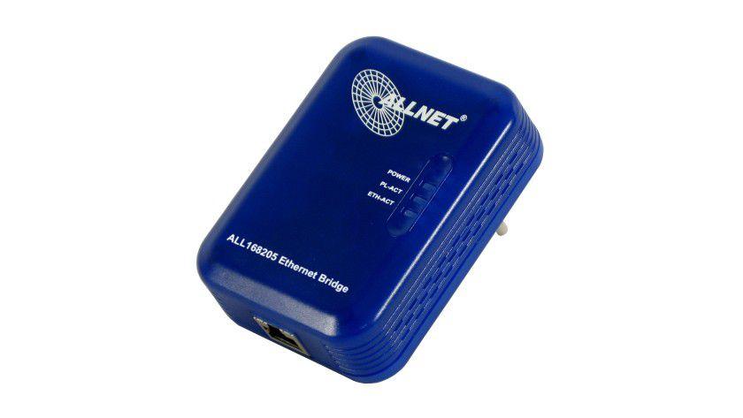 Hier kommt das Netzwerk aus der Steckdose: Der ALLNET Powerline Adapter ALL168205.
