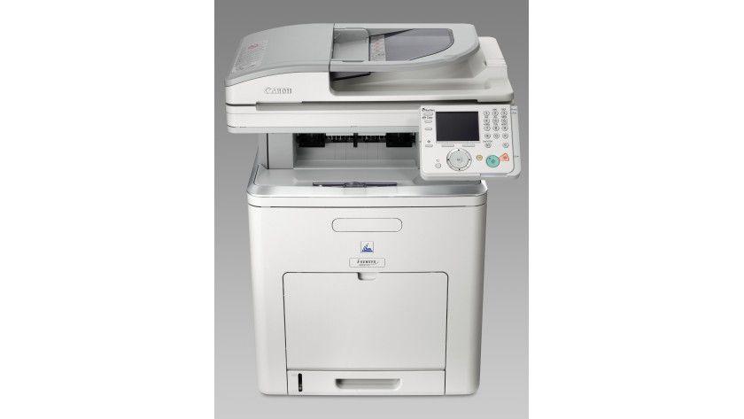 Canon i-Sensys MF9170: Das Kombigerät kann beidseitig Drucken, Kopieren und Scannen. (Quelle: Canon)