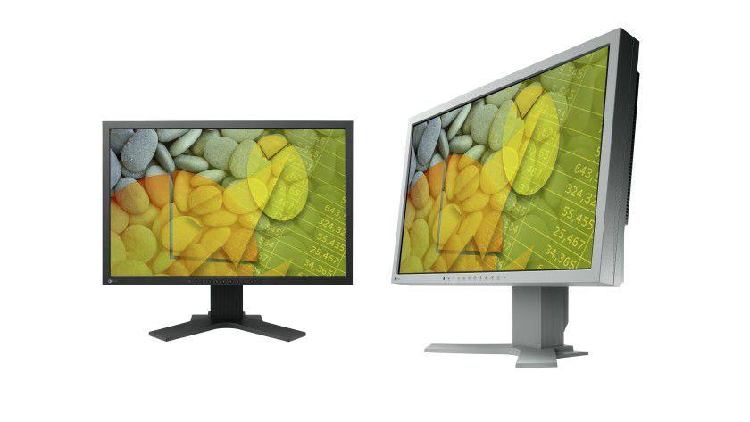 Eizo S2202W und S2402W: Zwei neue Office-Displays von Eizo mit 22- beziehungsweise 24-Zoll-Diagonale. (Quelle: Eizo)