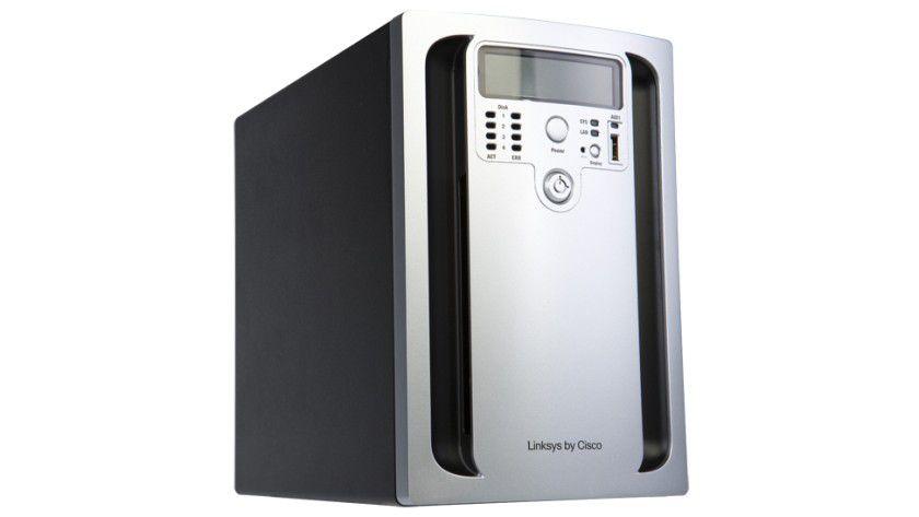 Netzwerkspeicher: Das NAS NSS3000. (Quelle:Cisco)