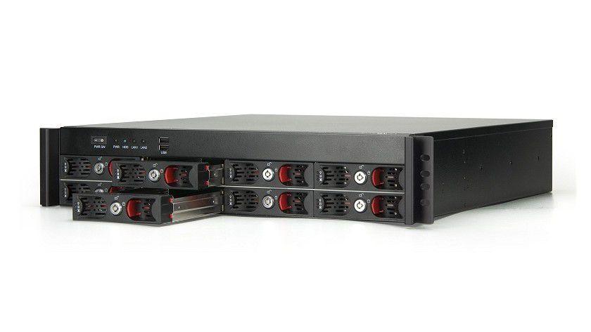 VIA-Server: Der NSR7800 ist ein Rackmount-Server für Netwerkspeicherlösungen. (Quelle: VIA)