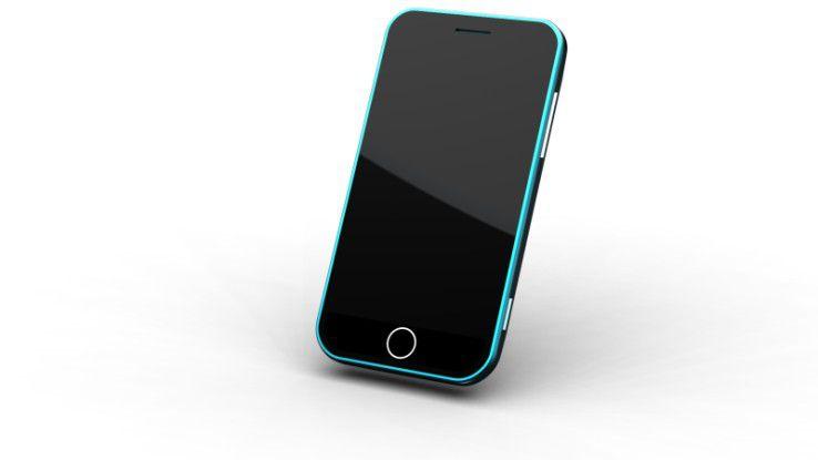 Vom Apple iPhone inspiriert: das noch namenlose Android-Smartphone von Huawei.