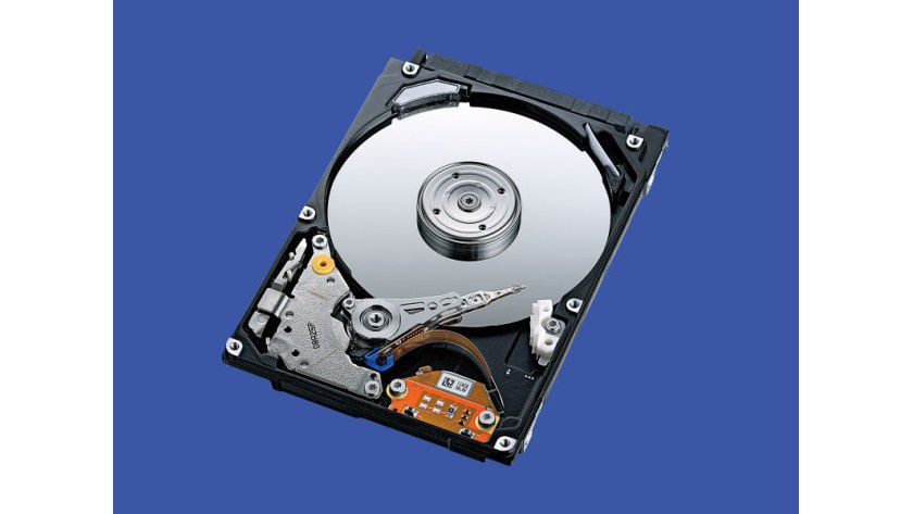 Toshiba MK3254GSYF: 320 GByte Kapazität