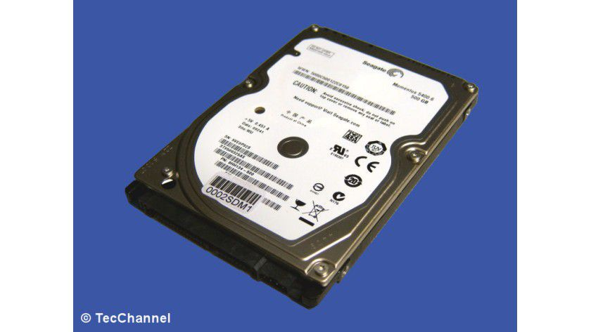 Seagate Momentus 5400.6 ST9500325AS: 500 GByte Kapazität
