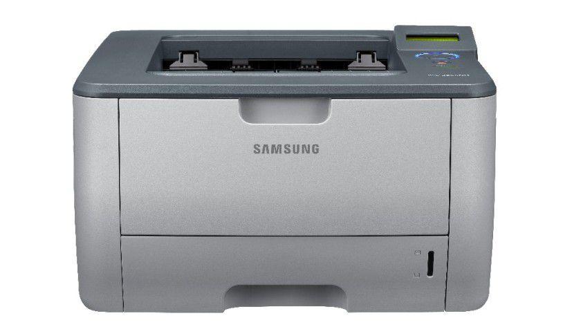 Samsung ML-2855ND: Der Gruppendrucker kommt mit 28-Seiten-Druckwerk und serienmäßiger Duplex-Einheit. (Quelle: Samsung)