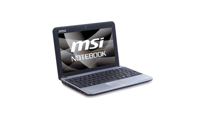 MSI Wind U115 Hybrid: Das Netbook kommt mit SSD und Festplatte. (Quelle: MSI)