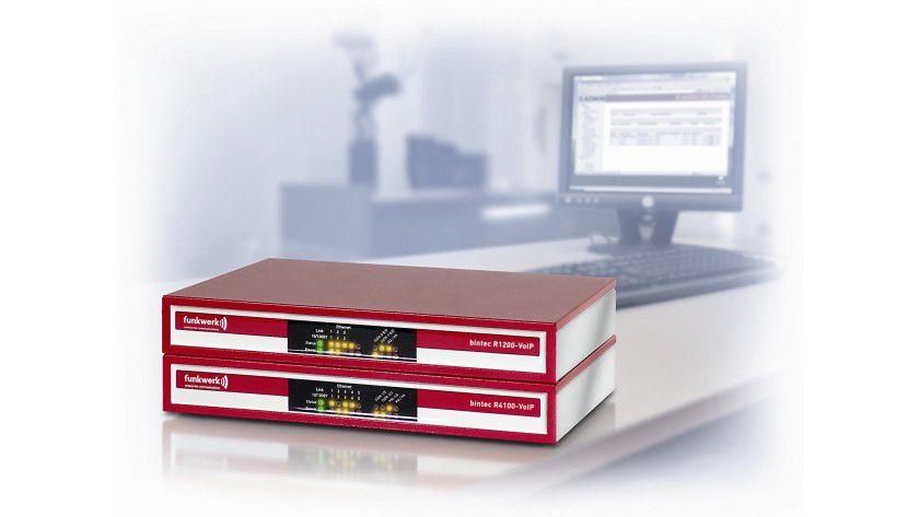 Faxen im Netzwerk: Bintecs Media Gateways unterstützen T.30 und T.38.