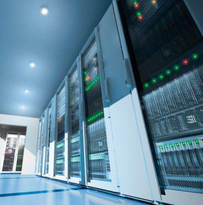 Neue Wege: In die Server-Räume halten neue, energieeffiziente Technologien Einzug. (Quelle: Rittal)
