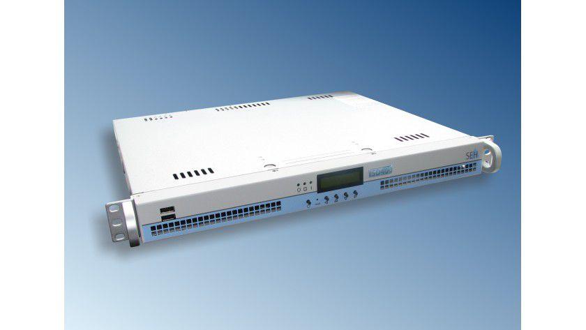 SEH ISD400: Die Druck-Appliance ist für den Einsatz in Umgebungen mit bis zu 150 Druckern gedacht. (Quelle: SEH)