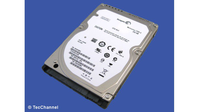 Seagate Momentus 7200.4 ST9250410AS: 250 GByte Kapazität