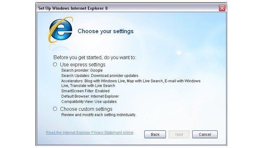 Augen auf beim Browserkauf: IE8 ist nach Installation nicht automatisch neuer Standard-Browser.
