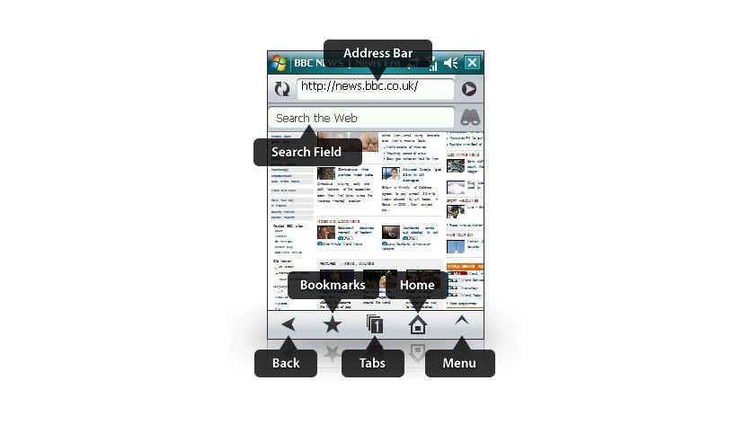 Opera Mobile 9.5 Beta: Alle Hauptfunktionen im Überblick (Quelle: Opera)..