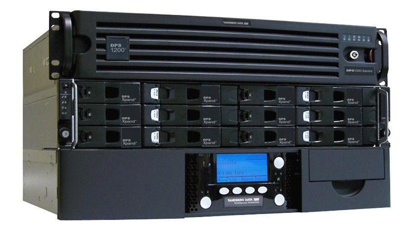 DSP1200: Tandberg steigt mit der DPS-Linie in den Markt der Virtuellen Tape Libraries für den Mittelstand ein..6