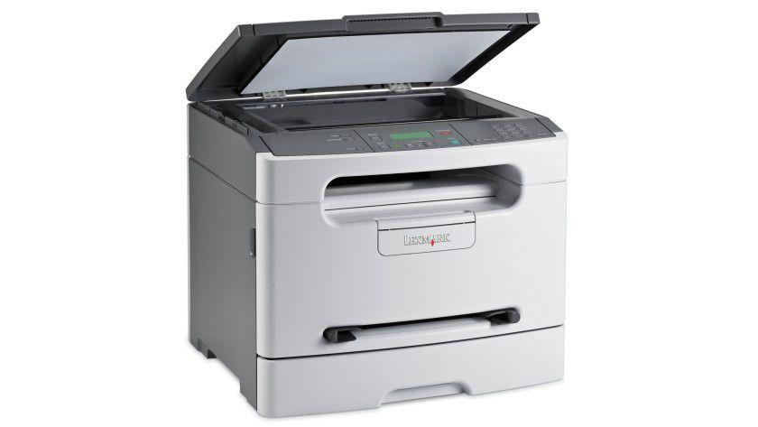 Lexmark X203n: Die preiswertere der beiden Neuerscheinungen kommt ohne automatische Dokumentenzufuhr. (Quelle: Lexmark)