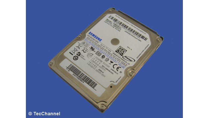 Samsung SpinPoint M7 HM500JI: 500 GByte Kapazität