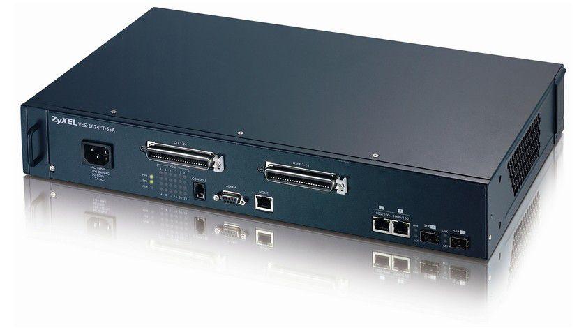 Telefon genügt: VDSL2 Switches von Zyxel für In-House Anwendungen.