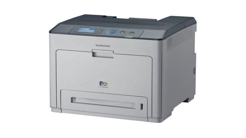 Samsung CLP-770ND: Der netzwerkfähige Farblaser soll bis zu 32 Seiten pro Minute produzieren. (Quelle: Samsung)