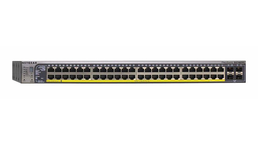 Stapelbare Switches: Bis zu 288 Ports unter einer IP-Adresse administrierbar.