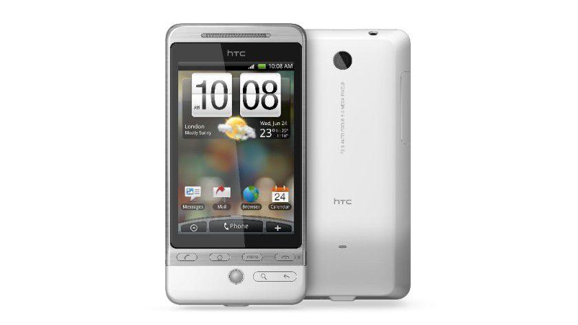 Helden-Smartphone: Das neue HTC Hero mit Android-Betriebssystem. (Quelle: HTC)