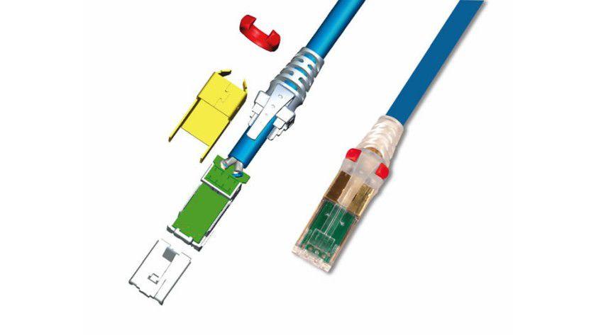 Mit Leiterplatte: Das PCB im Stecker soll die Signalqualität erhöhen.